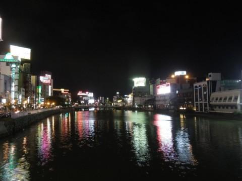 那珂川の夜景