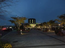 夜の函館駅がきれいだった